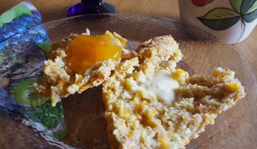 Gluteenittomat porkkana-juustoteeleivät