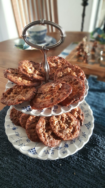 Suklaa-pähkinä-kauralastut, gluteenittomat